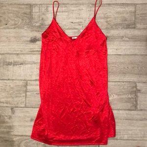 Zara mini slip dress